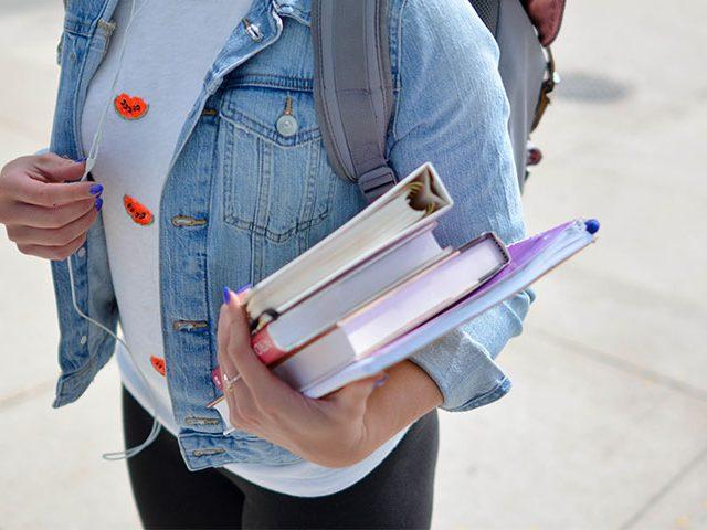 books holding 640x480 - Durante o Dia o Melhor é o Pestalozzi
